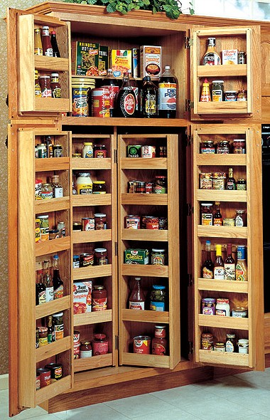 pantry with pullout shelves – provides an incredible amount of ...