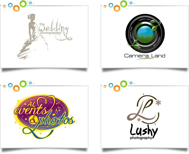 Photography Logo Design Portfolio | Custom Logo Designs
