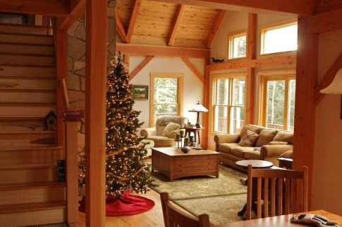 Custom House Designs Granby Post and Beam timber Houses can be