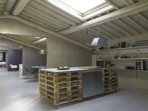 ... Modular Furniture Adds Personality to Modern Loft Conversion Design