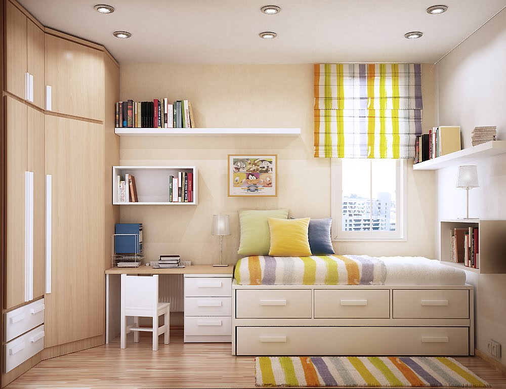 Small Apartment Decorating and Interior Design Ideas