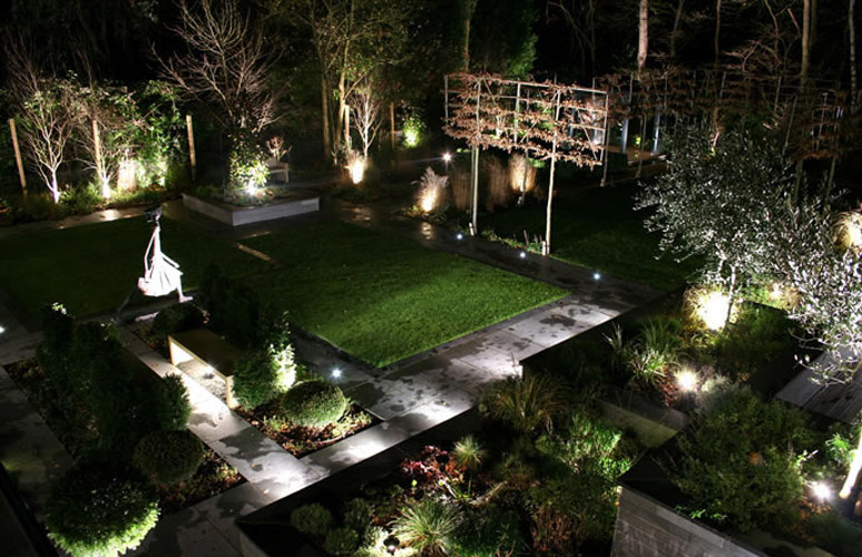 Modern Outdoor Garden Lighting Design Ideas
