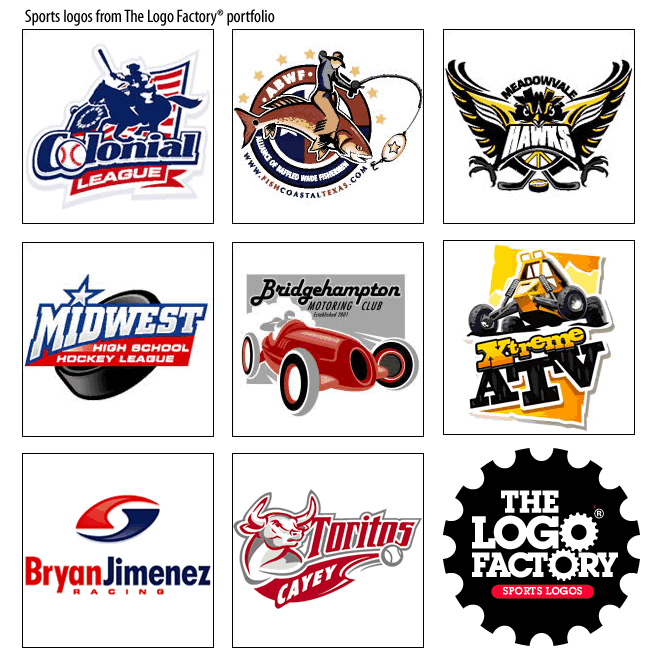 Sports logos | Design for sport teams & athletic companies | The Logo ...