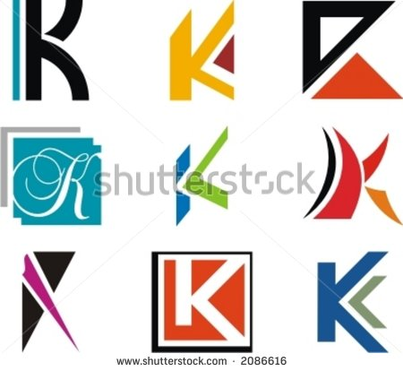Alphabetical Logo Design Concepts. Letter K. Check my portfolio for ...
