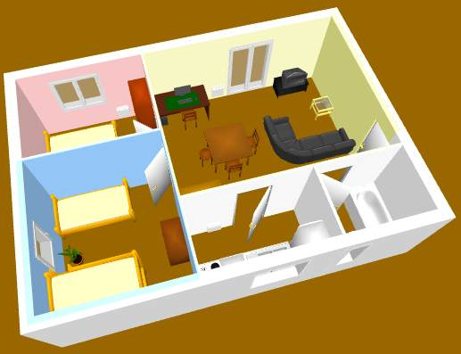 Sweet Home 3D's multimedia gallery