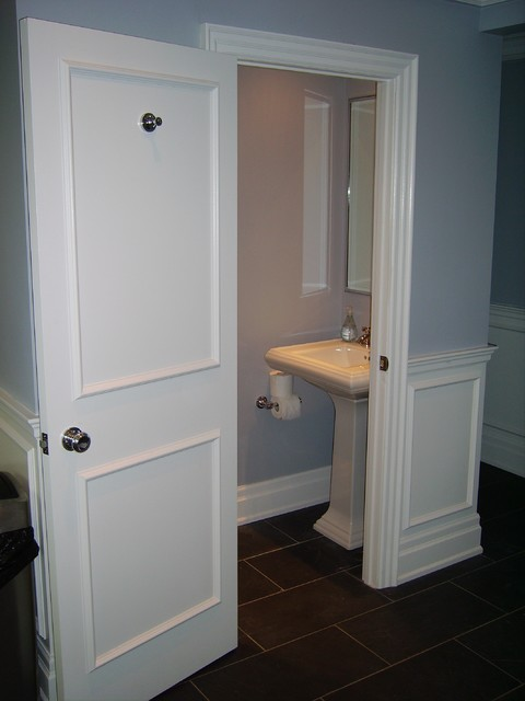 Tiny small bathroom - Traditional - Powder Room - toronto - by Norcon ...