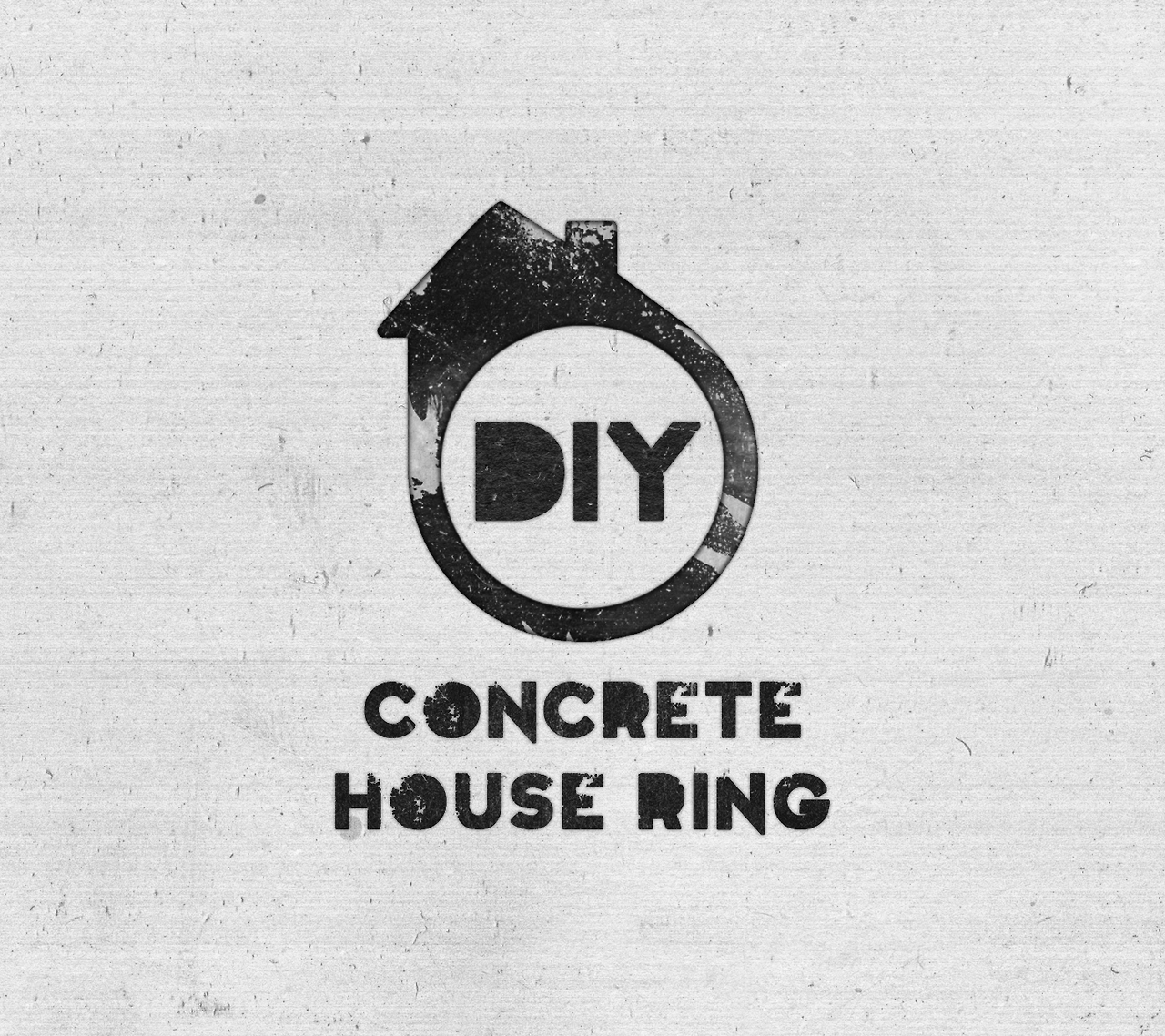 ... Design Studio - Logo design for The DIY Concrete House Ring by
