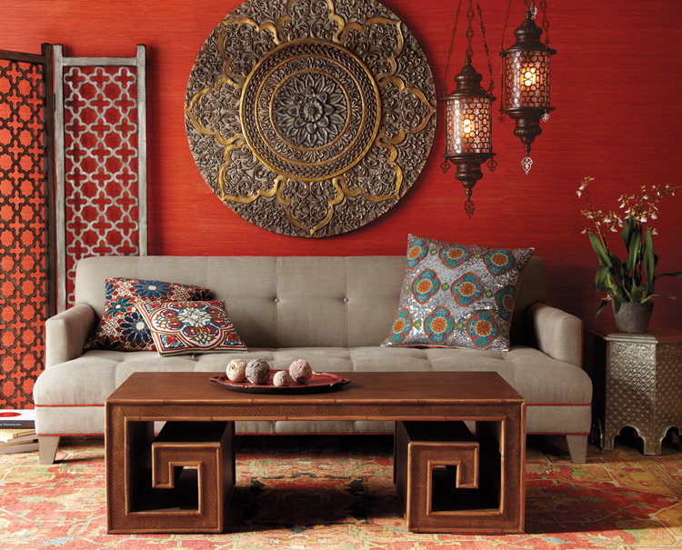 Indian Themed Living Room | House Remodeling