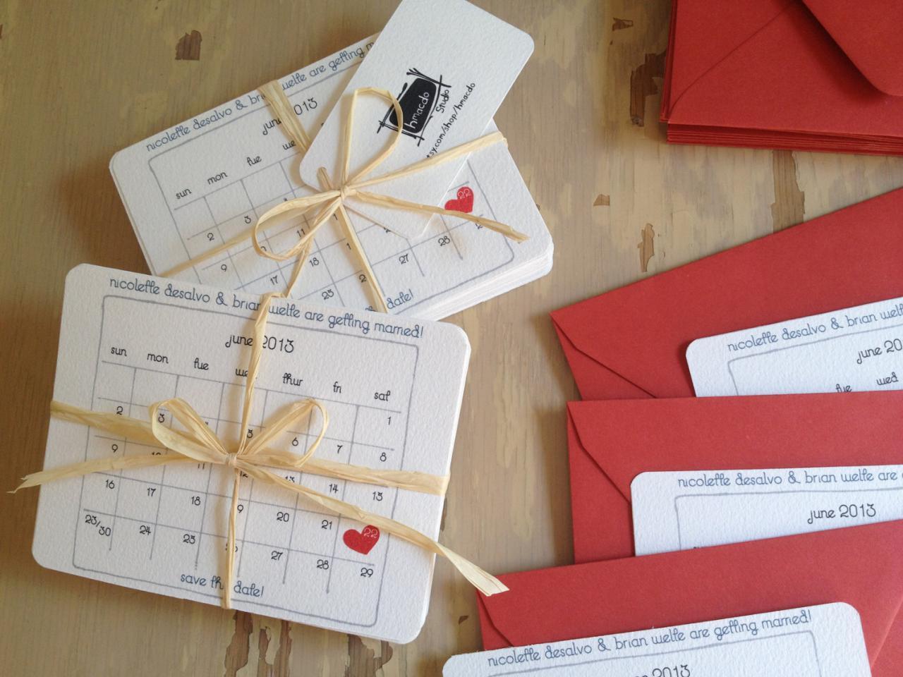 Above >> unique wedding invitation ideas with calendar. Visit this ...