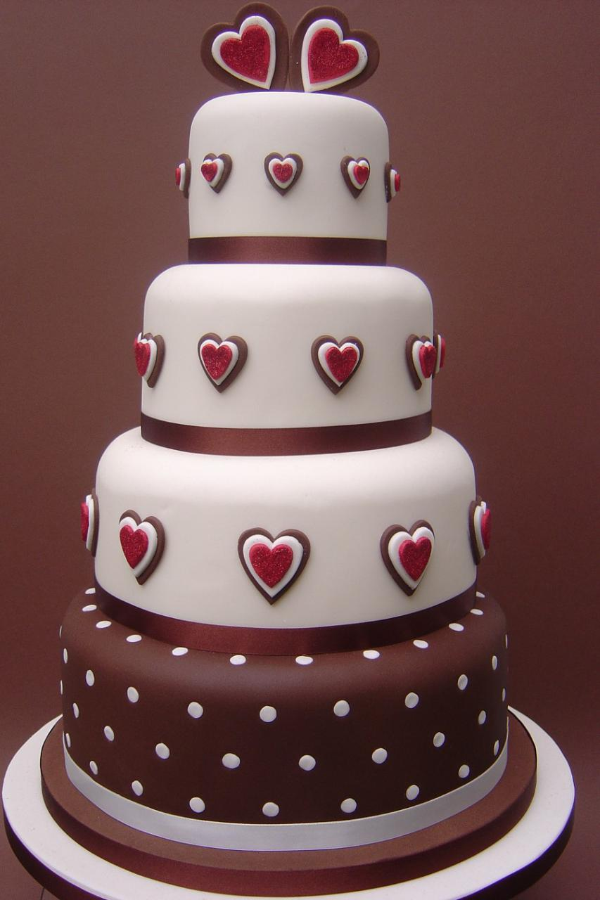 Pizza and Cake Chocolate: Wedding Cakes