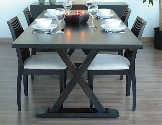 Wooden Dining Tables Decorating Ideas | Home Conceptor
