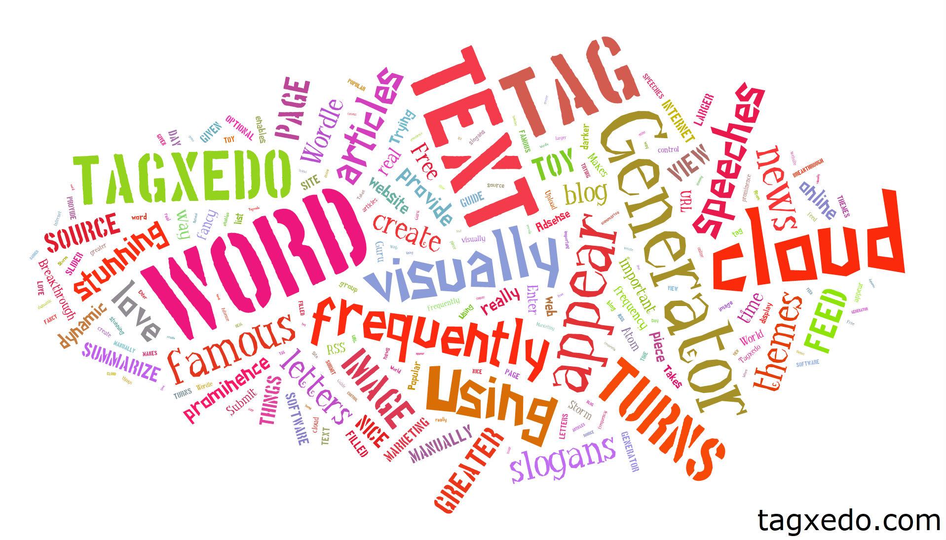 What is the Best Free Online Word Cloud Generator? | Hugh Fox III
