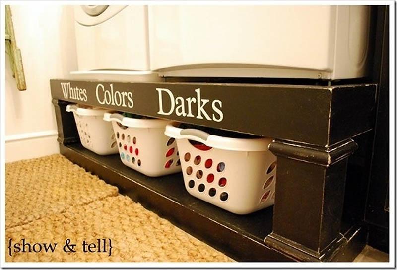 41. En un estante para zapatos, puede almacenar artículos de tocador ...