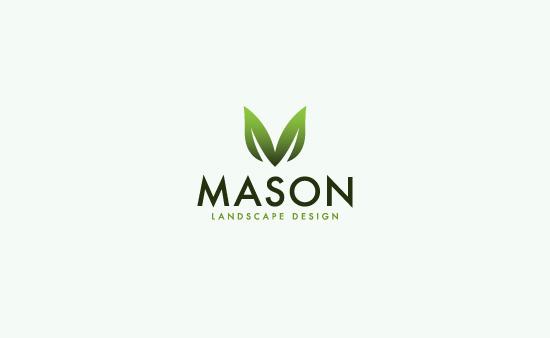 Mason Landscape Design - Logo Graphic Design