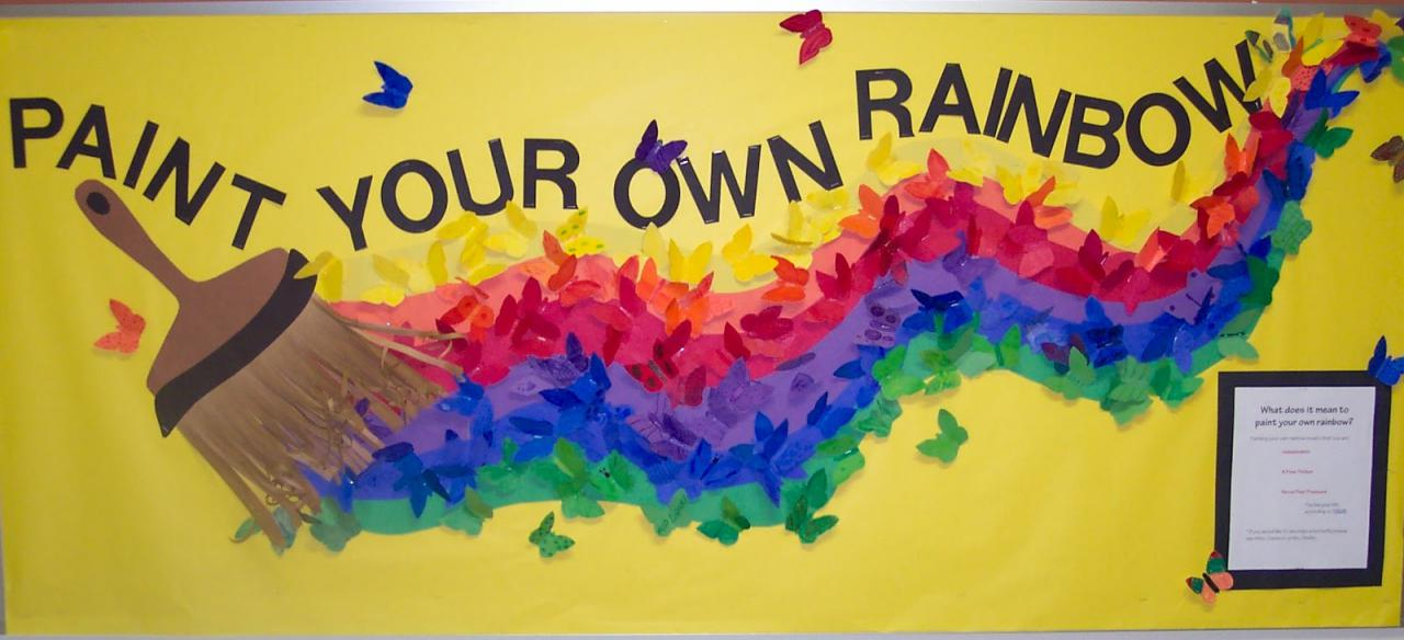 Chin Colle: Paint Your Own Rainbow