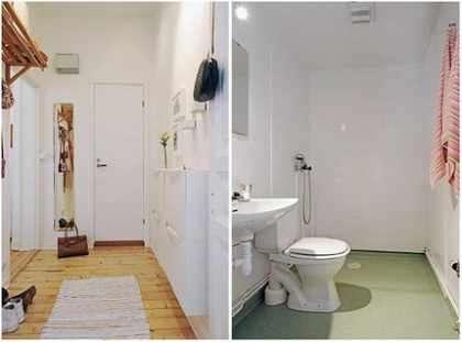 50平米两室一厅小户型精装修(图) -北京装修