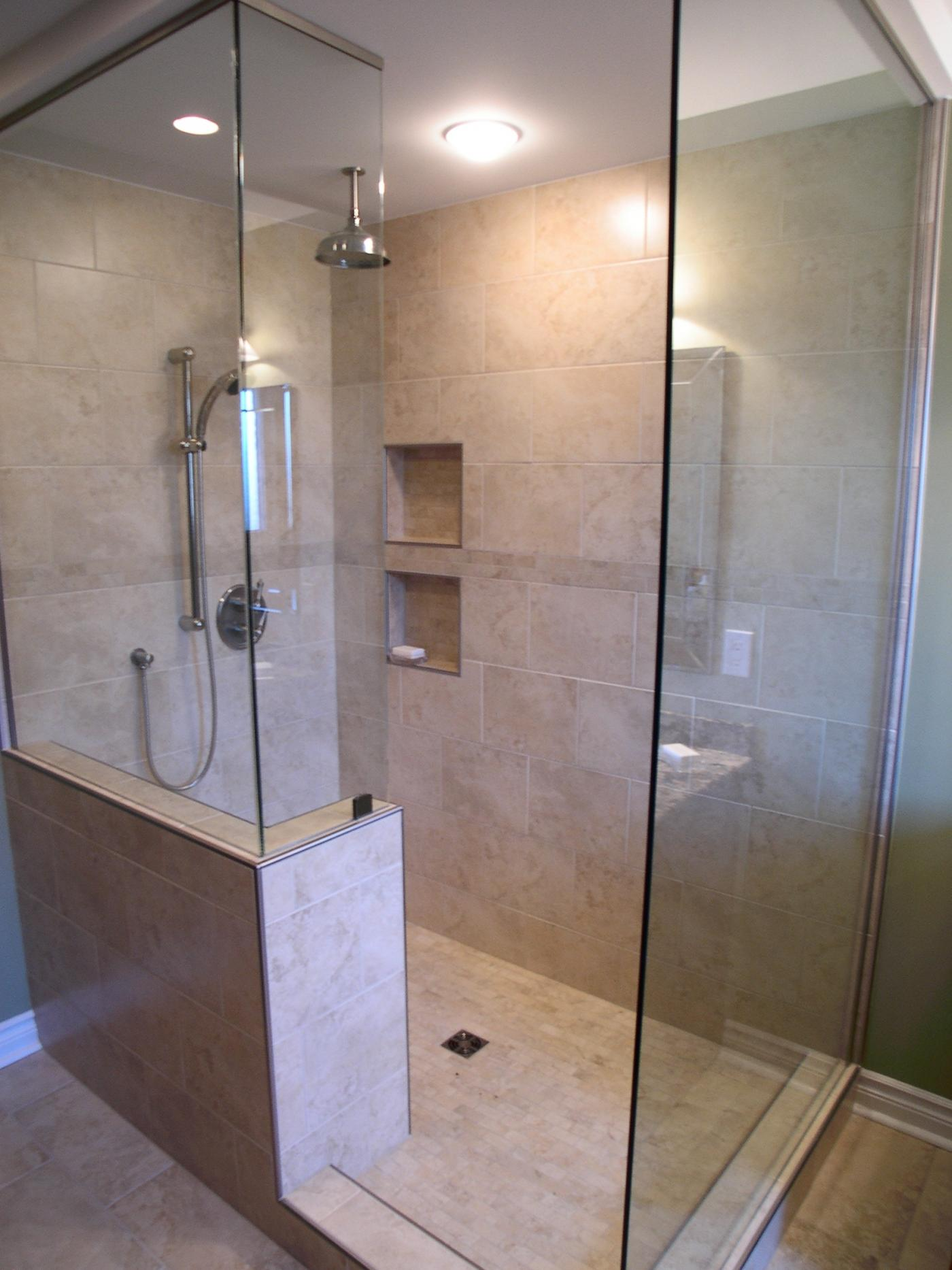 Walk In Shower Ideas - Remodeling - Contractor Talk