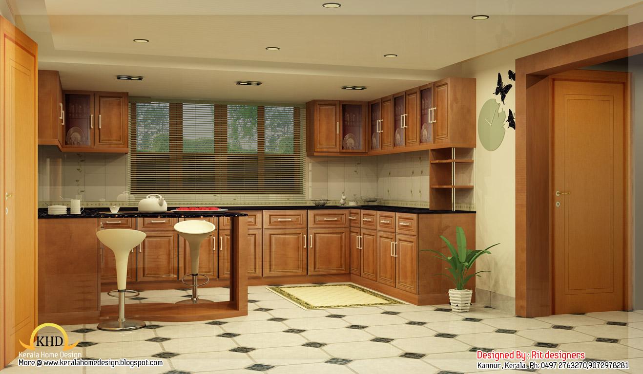 Beautiful 3D interior designs - Kerala home design and floor plans