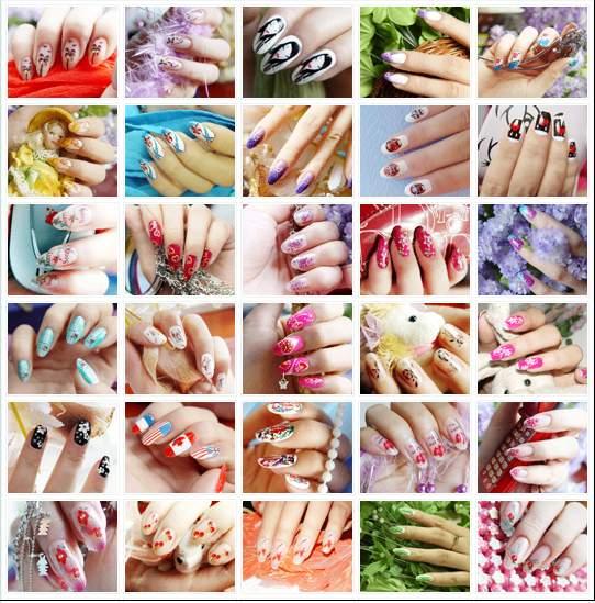 platform users nails nail polish nail design Nail Art Ideas nail ...