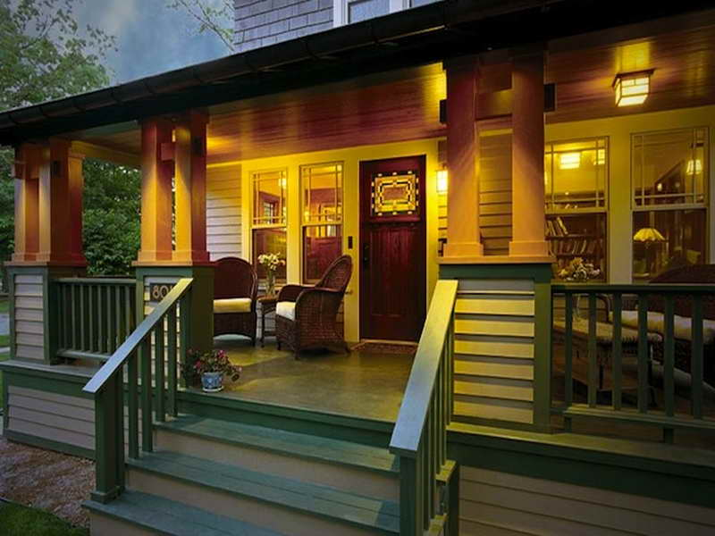 Awesome Bungalow Makeover Mobile Home Front Porch Designs