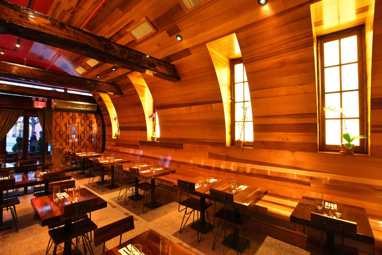 ... by The Barrel, a tapas bar and wine bar, located in East Village, NYC