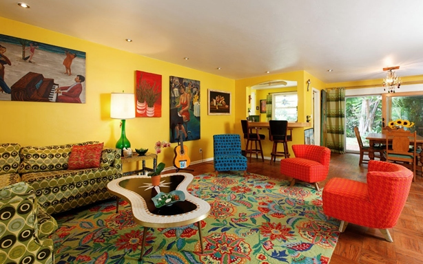How to Present Chic Retro Touch in Home Decorating - Jazzy Living