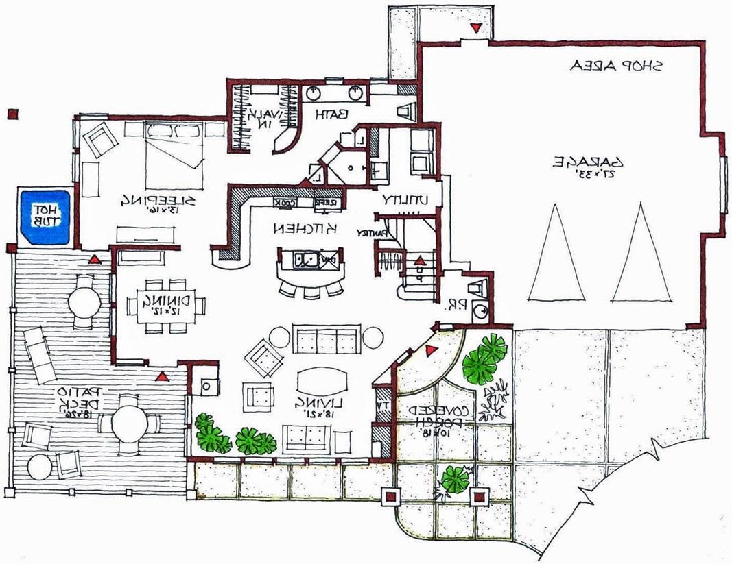 Contemporary House Plan, Modern House Plan Ideas