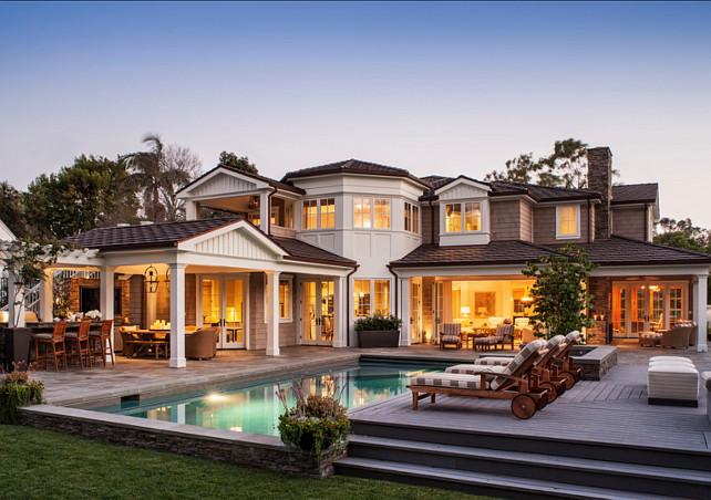 Costal Home. Coastal Home Ideas. Beautiful coastal home design. # ...