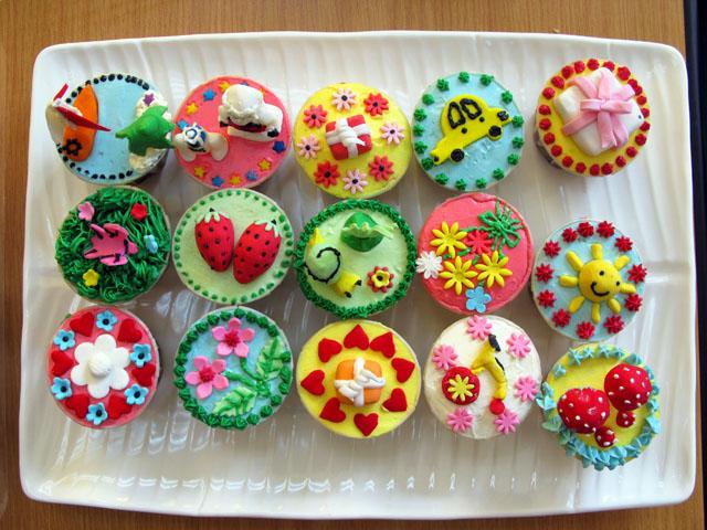Receita de cupcakes decorados - Sabores do Chef