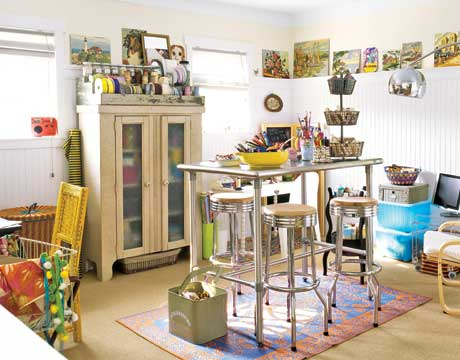 Decorating ideas for a craft room1