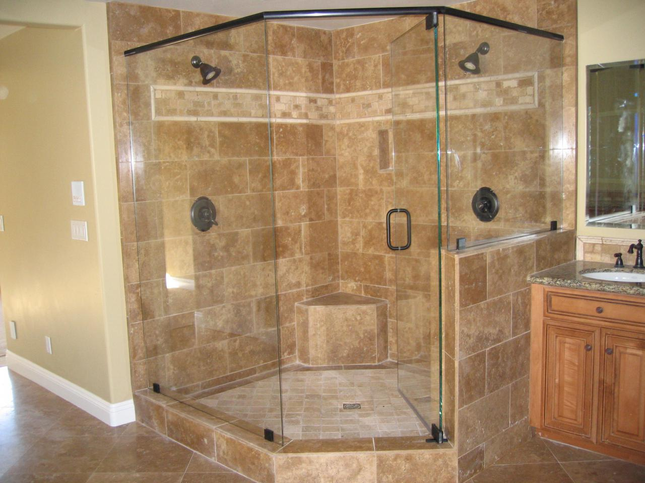 We have several different looks for the glass of your shower. You can ...