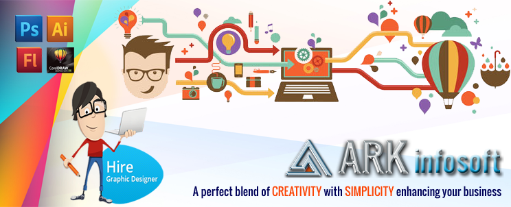 Hire Graphics Designer   ARK Infosoft