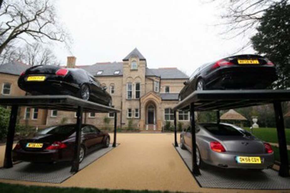 Garage Designs: Hydraulic Car Garage Design Ideas, Artistic Look ...