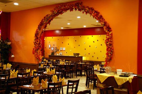 "Spicy"" Indian Restaurant Interior Design Ideas | Interior Fans"