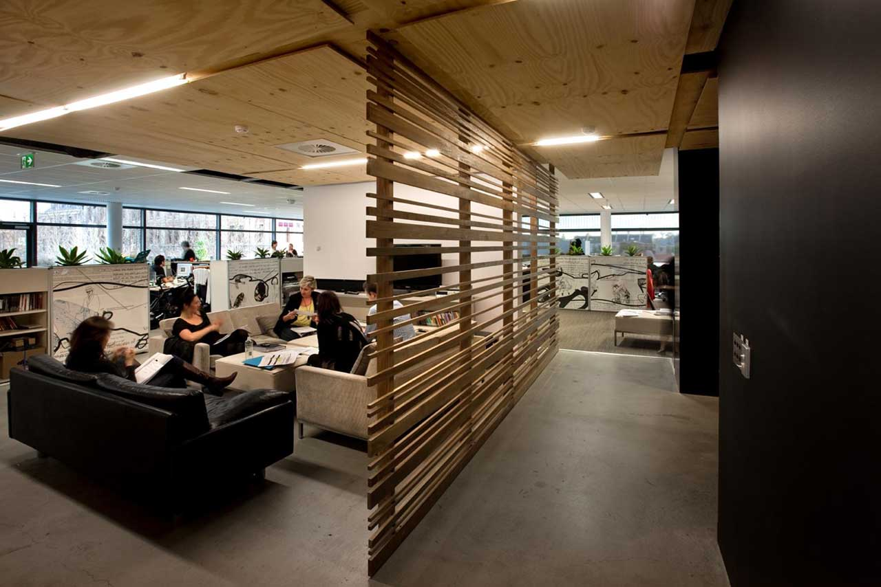 Interior modern leo burnett office lobby design modern house Interior ...