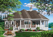 Lake House Plans & Home Designs | The House Designers