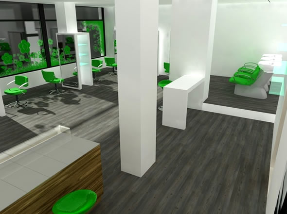 Minimalist Interior Design Beauty Salon « Flooring « Room « Design ...