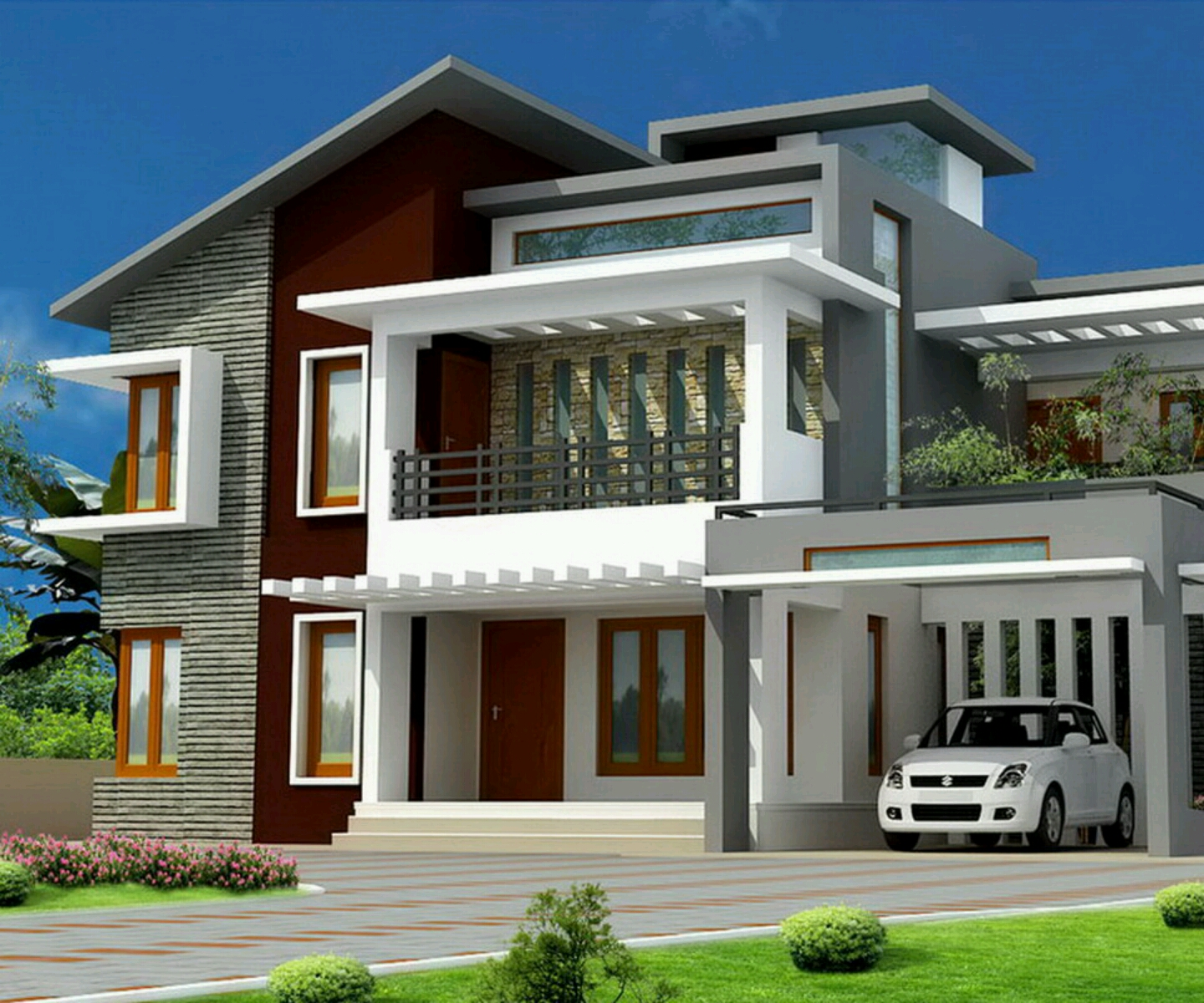 Modern bungalows exterior designs Inspiration - Interior Design