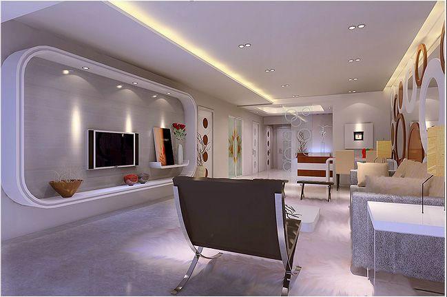 Modern living room cabinets designs.