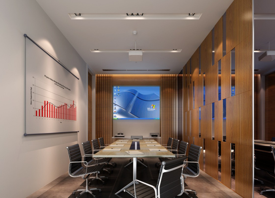 ... minimalist Digital Meeting room interior design - Interior Design