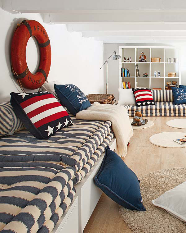 Nautical Inspired Bedroom For Boys | iDesignArch | Interior Design ...