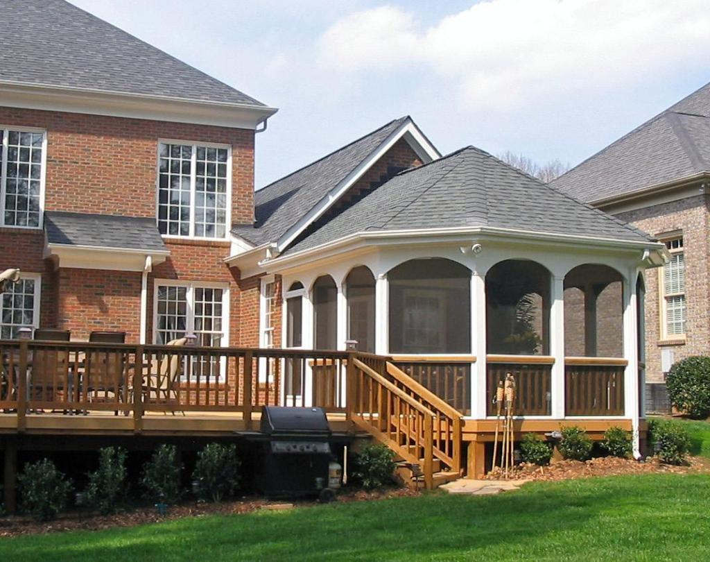 Charlotte Screen Porch and Open Porch Builder