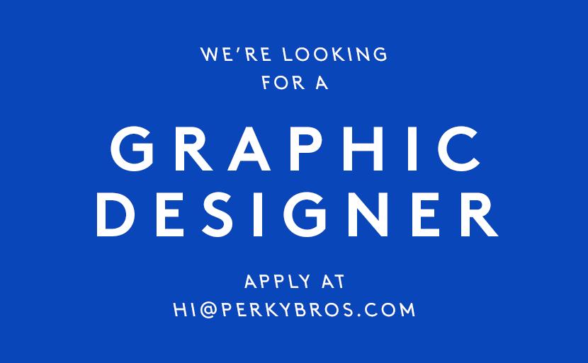 Perky Bros llc - Hiring: Graphic Designer -