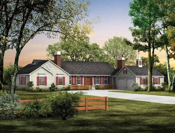 ... to Landscaping with Ranch Style Home | Smart Home Decorating Ideas