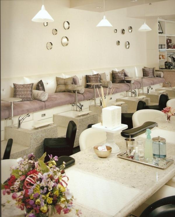 Interior Design for a Nail Salon | Room Decorating Ideas