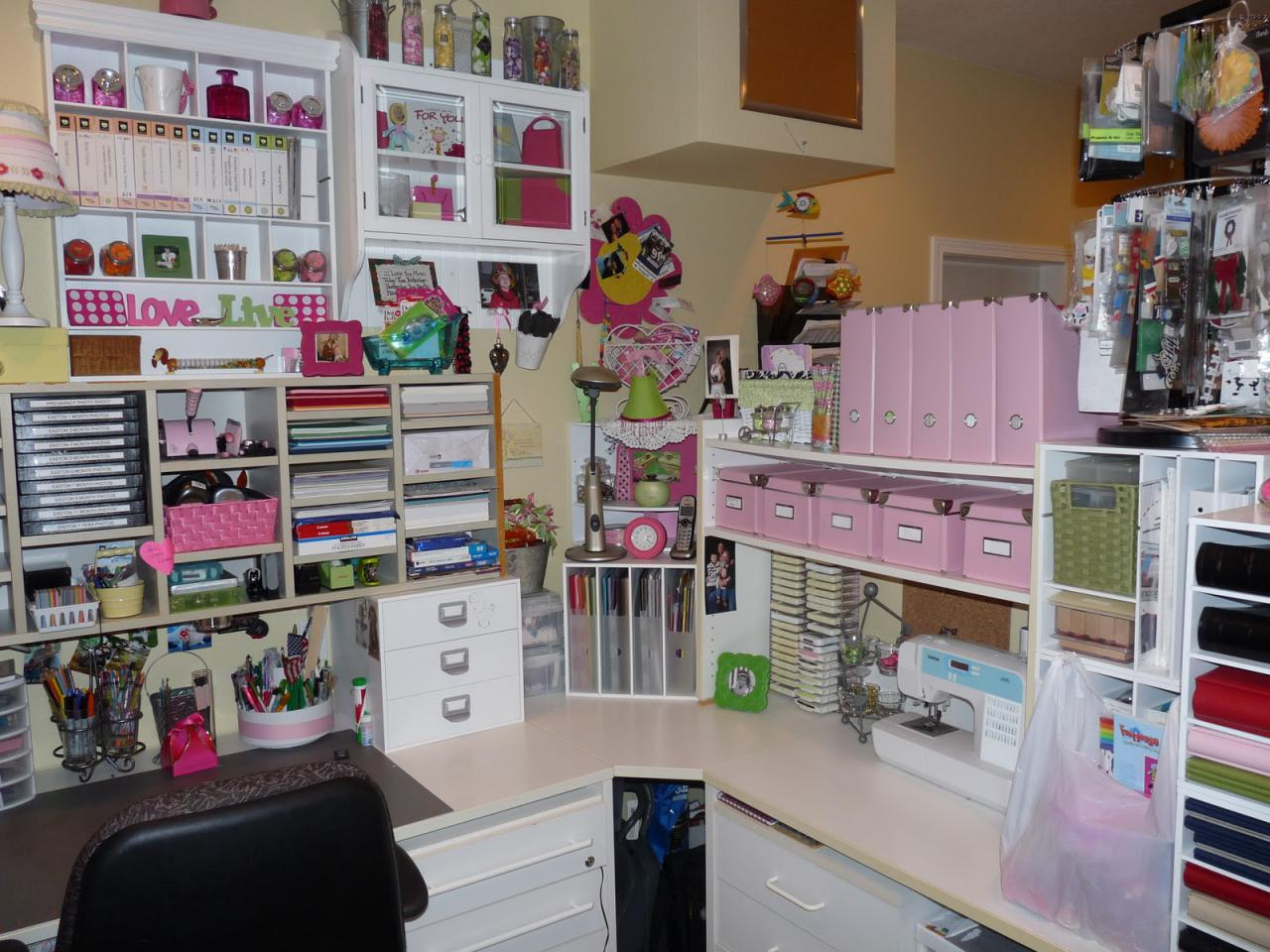 Scrapbook Room Design