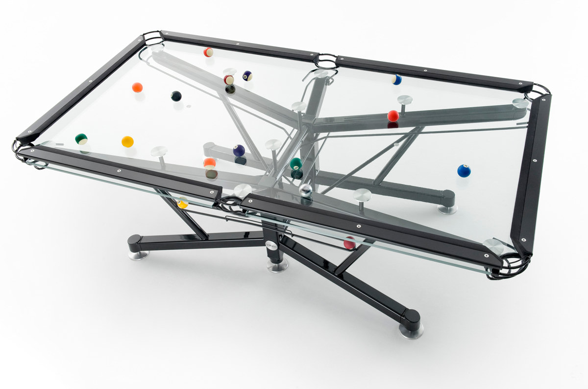 Elite Innovations - Pool Tables - G-1 Glass Top Billiard Table