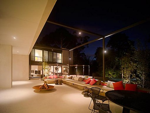 Terrace Lighting Design | MOTIQ Online - Home Decorating Ideas