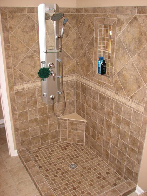 ... Shower Design Ideas Tile Bathroom Shower Floor – Home Design Ideas