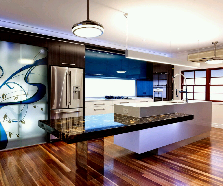 New home designs latest.: Ultra modern kitchen designs ideas.